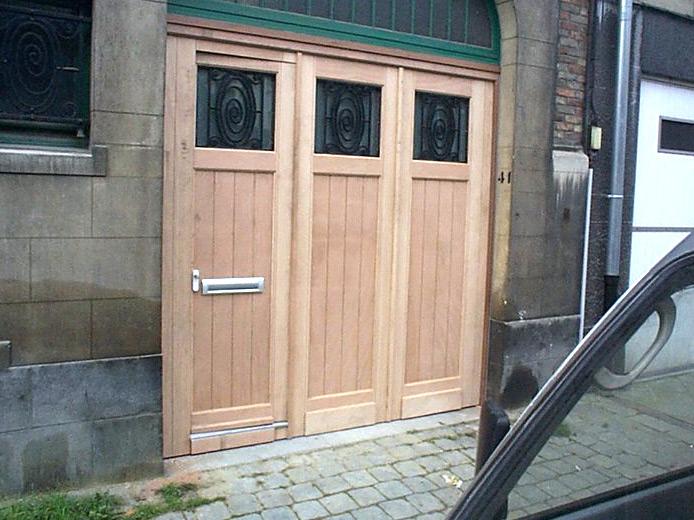 Armoured Garage Door Comes